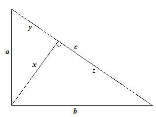 Rätvinklig triangel vinklar